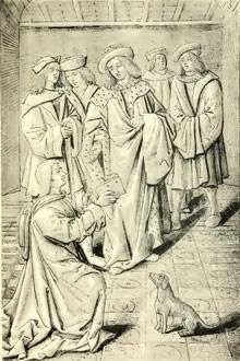 henri-baude-auteur-medieval-poesie-satirique-moyen-age-tardif-vieux-francais
