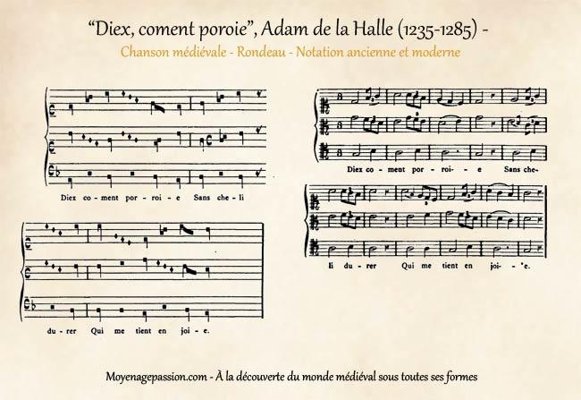 musique-chanson-medievale-adam-halle-diex-coment-porroie-moyen-age-s