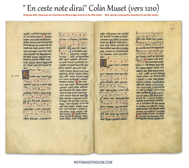 colin-muset-musique-chanson-medievale-trouvere-vieux-francais-moyen-age-francais-845-bnf-s