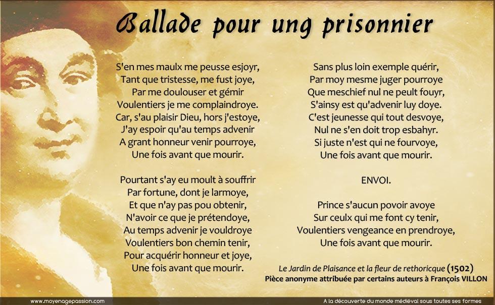 francois-villon-ballade-prisonnier-jardin-de-plaisance-poesie-medievale-moyen-age-tardif