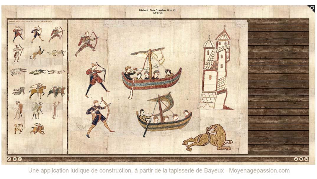 jeu-medieval-application-gratuite-monde-medieval-tapissserie-bayeux
