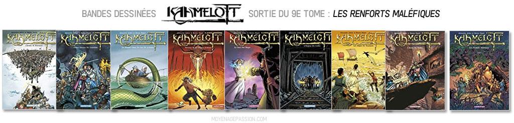 BD-kaamelott-nouveautes-sortie-9-tome-alexandre-astier-Bande-dessinee-2