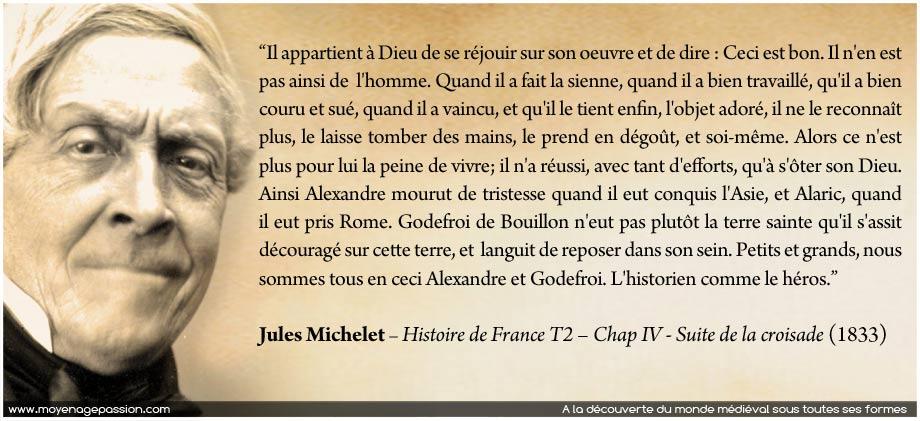 citation-moyen-age-monde-medieval-croisades-jules-michelet-histoire-de-france