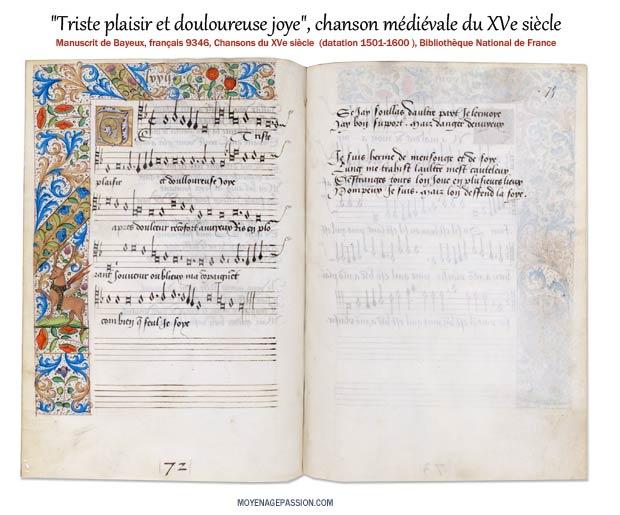 triste-plaisir-bayeux-manuscrit-XVe-siecle-chanson-courtoisie-monde-medieval_s