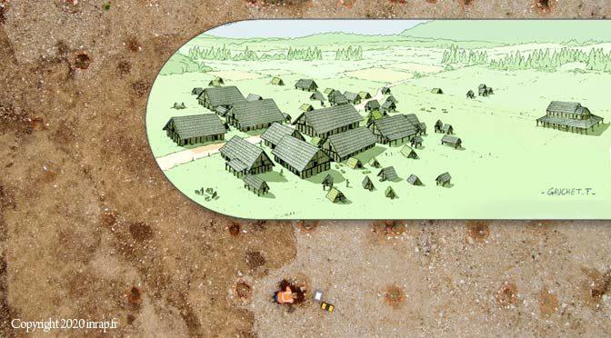 archéologie médiévale : un village mérovingien à Pontarlier