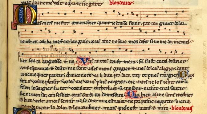 Chanson medievale : les tourments courtois de Blondel de Nesle
