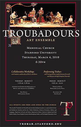Un Concert médiéval du Troubadours Art Ensemble