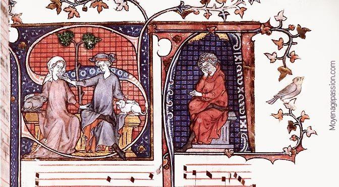 Quant je parti de m'amie, une pièce courtoise du Codex de Montpellier h196
