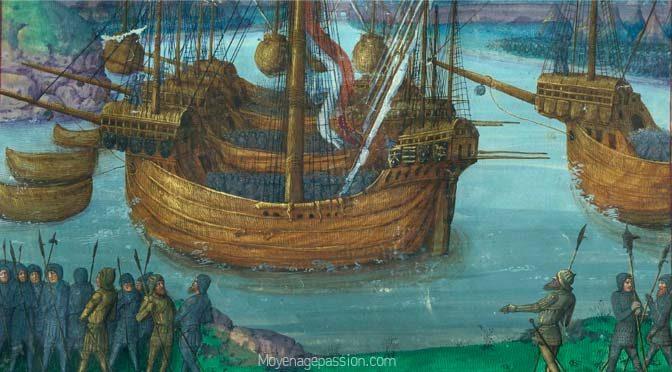 Naviguer: les représentations navales dans le manuscrit de l'amiral Louis Malet de Graville.