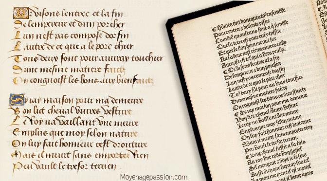 Un texte médiéval sans concession sur Les devoirs politiques & la corruption des puissants