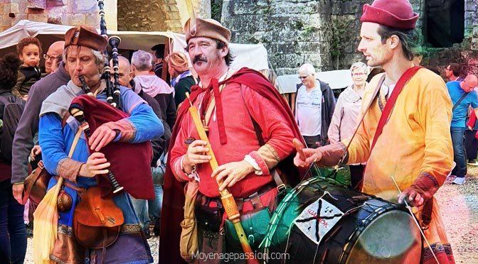 en Septembre 2021, Les figurants de l'histoire de retour à Senlis