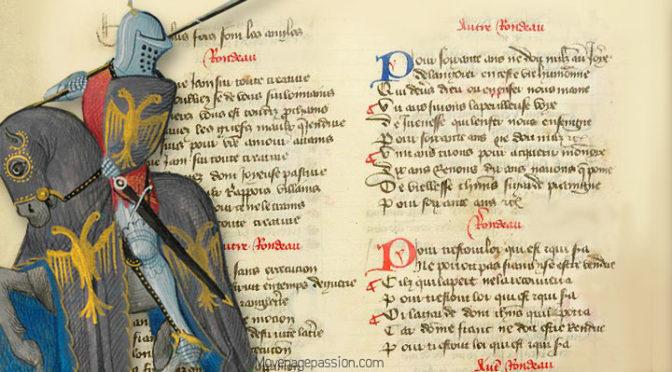 Au XIVe s, un rondeau sur la Franchise, signé Eustache Deschamps
