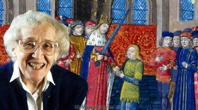 l'adoubement du chevalier au moyen-âge, Régine Pernoud