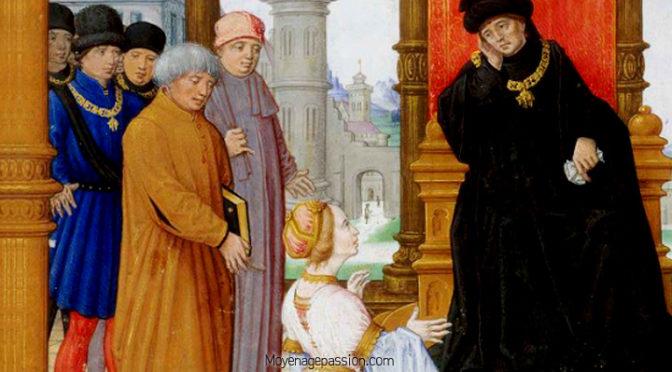 Poésie médievale satirique : Le prince de georges Chastellain(2)
